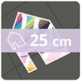 Vloersticker OUTDOOR vrije vorm - 25 cm