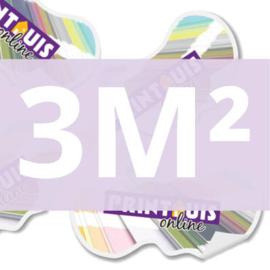 Stickers vrije vorm 3 m2