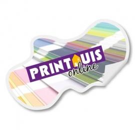 Stickers vrije vorm 1 m2