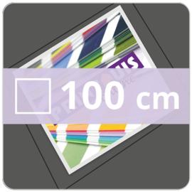 Vloersticker OUTDOOR vierkant - 100 cm