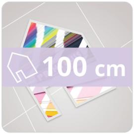 Vloersticker INDOOR vrije vorm - 100 cm