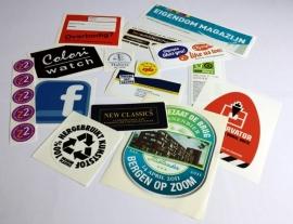 Ronde stickers 5 cm - 250 stuks