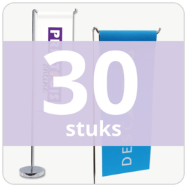 Tafelvlag - staand (30 stuks)