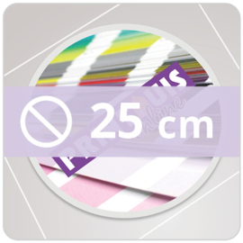 Vloersticker INDOOR rond - 25 cm