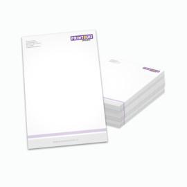 Briefpapier enkelzijdig