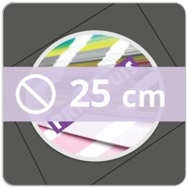 Vloersticker OUTDOOR rond - 25 cm