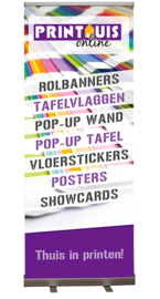 Budget roll-up banner