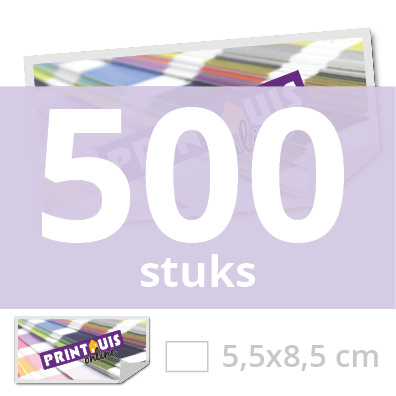 Sticker rechthoekig 5,5 x 8,5 cm - 500x