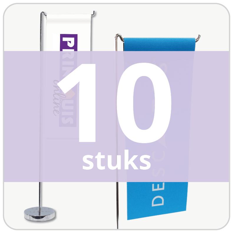 Tafelvlag - staand (10 stuks)