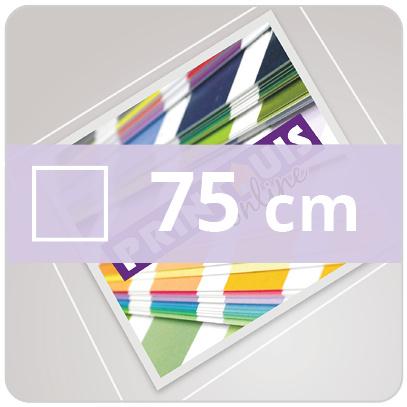 Vloersticker INDOOR vierkant - 75 cm