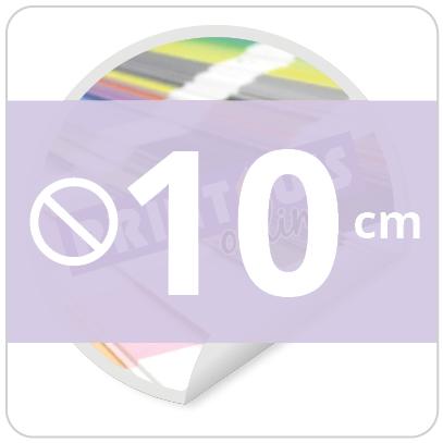 Sticker rond 10 cm