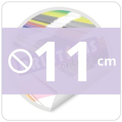 Sticker rond 11 cm