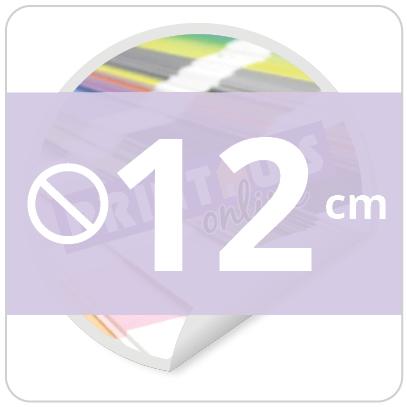 Sticker rond 12 cm