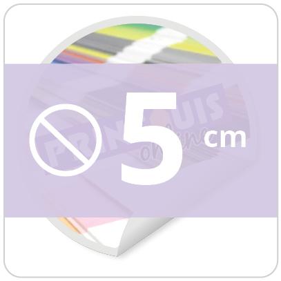 Sticker rond 5 cm