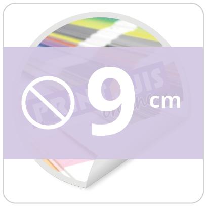Sticker rond 9 cm