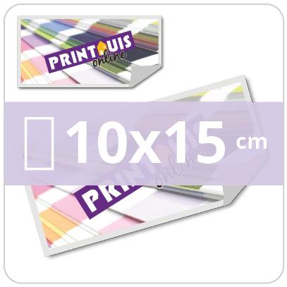 Stickers rechthoekig 10x15cm
