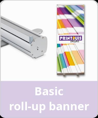 Basic roll-up banner