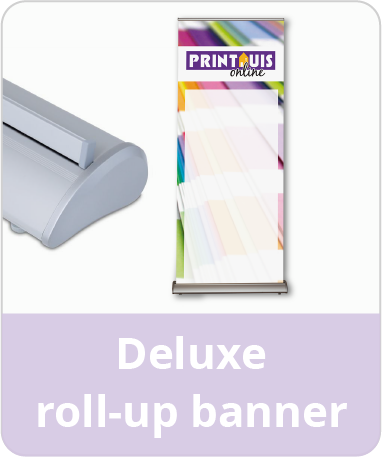 Deluxe roll-up banner