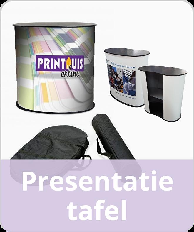 Presentatietafel Pop-up Counter