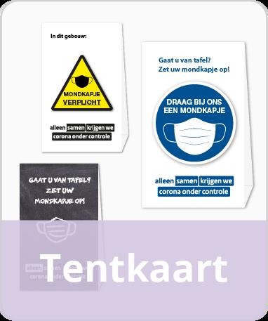 Tentkaarten / Tafelkaart
