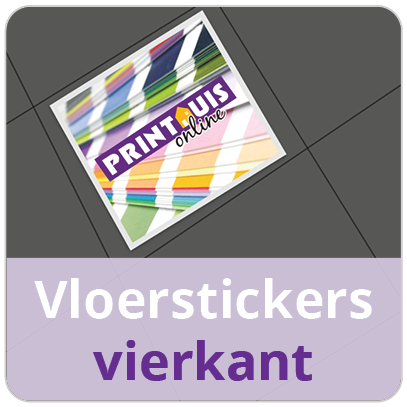 Vloersticker OUTDOOR vierkant