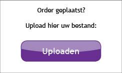 Upload uw bestand