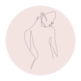 Cirkel 'Lichaam vrouw'