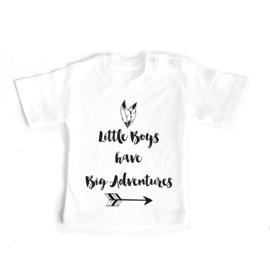 T-shirt Little Boys have big Adventures