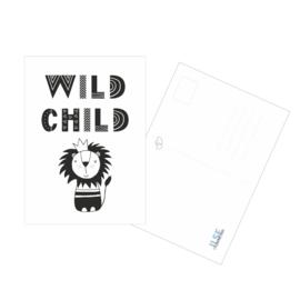 Postkaart / Interieurkaart 'Wild Child'