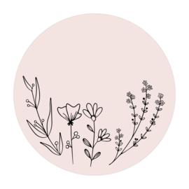 Cirkel 'Veldbloemen 1'
