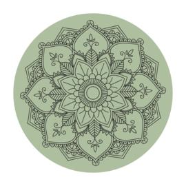 Cirkel 'Mandala - gecentreerd'