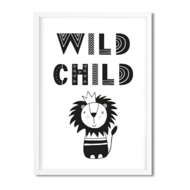 Postkaart / Interieurkaart 'Wild Child'