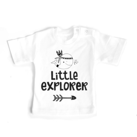 T-shirt Little Explorer met walvis