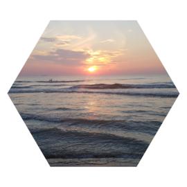 Zeshoek 'Ondergaande zon'