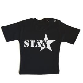 T-shirt Naam met ster