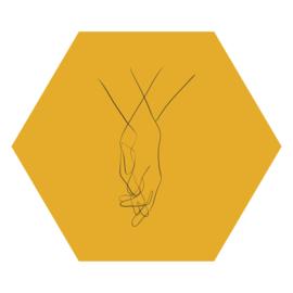 Zeshoek 'Handen'