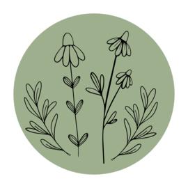 Cirkel 'Veldbloemen 2'