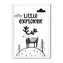 Postkaart / Interieurkaart 'Little Explorer'