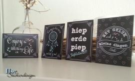 Postkaart / Interieurkaart 'Hieperdepiep'