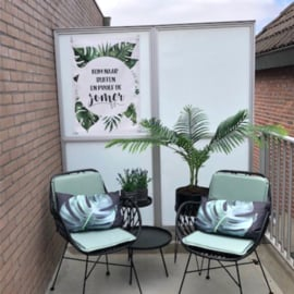 Tuinposter 'Kom naar buiten en proef de zomer'