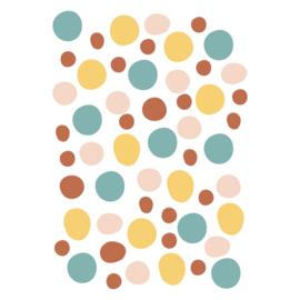 Muurstickers 'Dots'