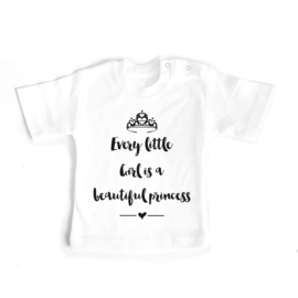 T-shirt Every little Girl is a princess