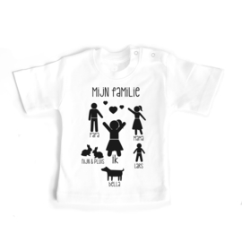 T-shirt Mijn Familie