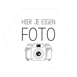 Zeshoek 'Eigen Foto'