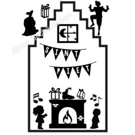 Uitbreiding 'Huisje met haard - Sint', HERBRUIKBAAR