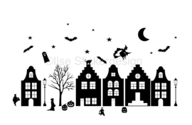 Uitbreidingsset stickers Halloween, HERBRUIKBAAR