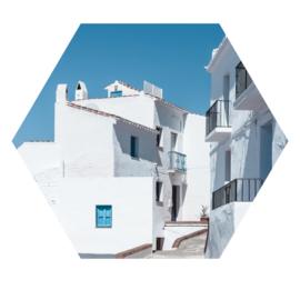 Zeshoek 'Witte huisjes'