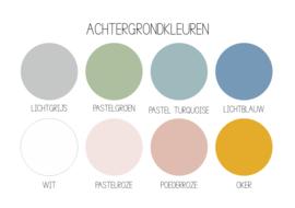 Label full color 'Toffe herinneringen'- rond