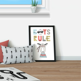Poster 'Boys Rule'