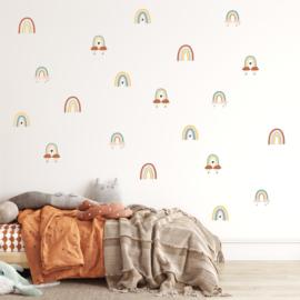 Muurstickers 'Kleine regenbogen'